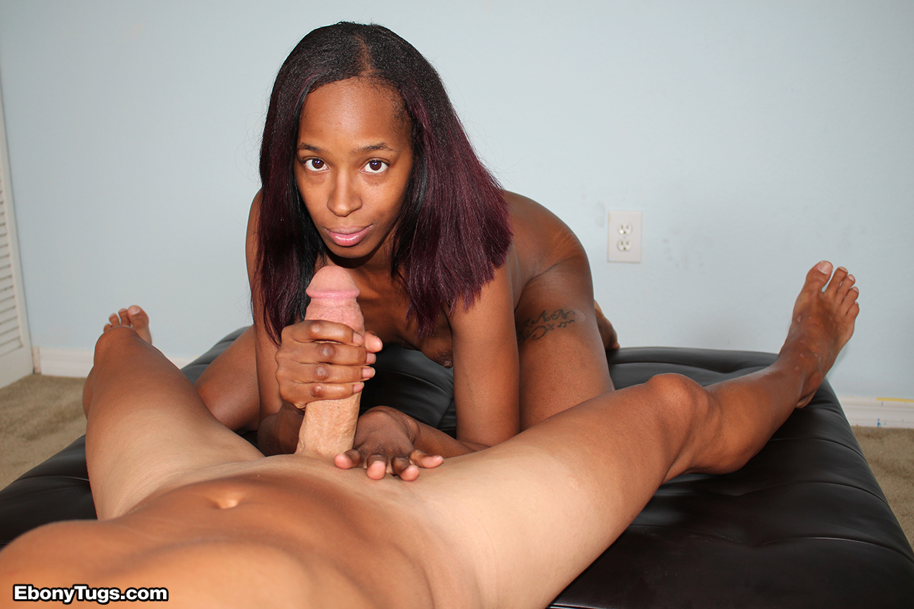 beautiful nigger pussy and handjob